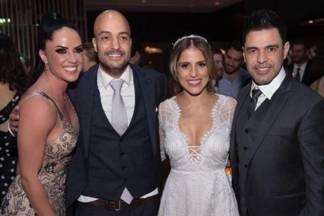 Graciele Lacerda, Leonardo Lessa, Camilla Camargo e Zezé Di Camargo - Reprodução/Instagram