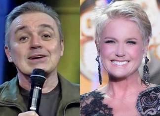 Gugu e Xuxa (Reprodução/Record TV/Blad Meneghel)