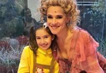 Ingrid Guimarães com a filha/Instagram
