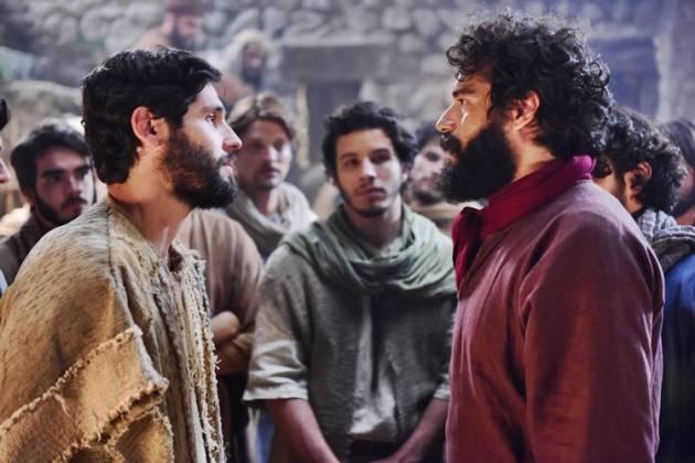 Jesus - Judas Iscariotes pede para se juntar ao Messias (Blad Meneghel/ Record TV)