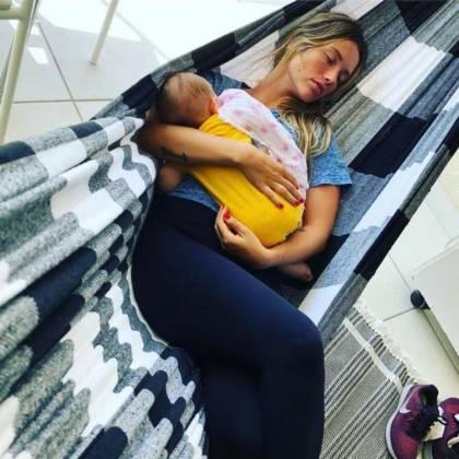 Juliana Didone e a filha - Reprodução/Instagram