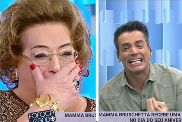Leo Dias e Mamma / Instagram