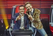 Léo Pain e Michel Teló (Globo/Raquel Cunha)