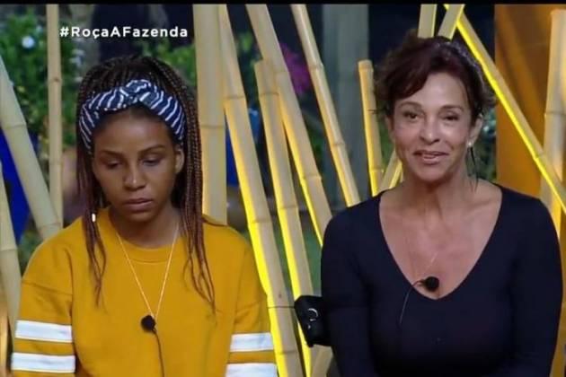 Luane Dias e Vida Vlatt - Reprodução/Record TV