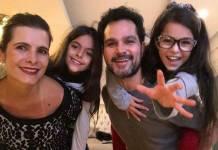 Luciano Camargo e a família - Reprodução/Instagram