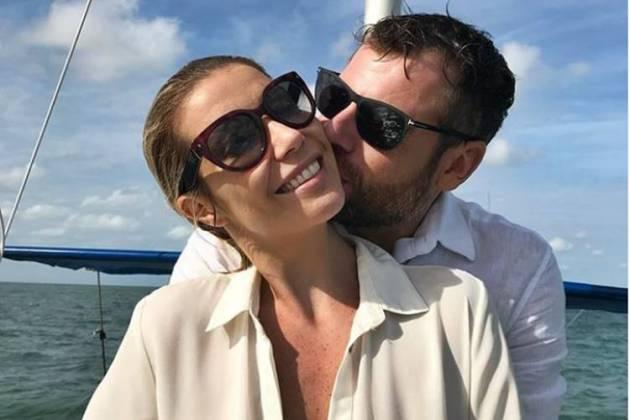 Luiza Possi com o noivo/Instagram