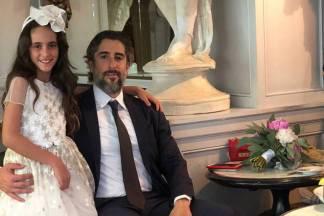 Marcos Mion e a filha, Donatella/Instagram
