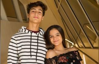 Mel Maia com o namorado/Instagram