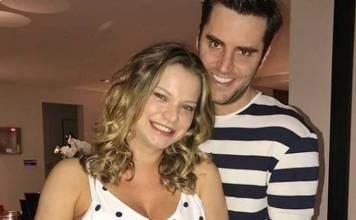 Milena Toscano com o marido/Instagram
