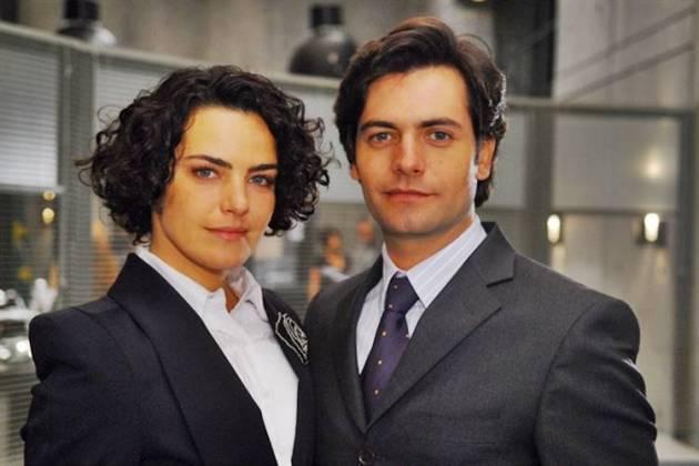 Na Forma da Lei - Beatriz e Celio (TV Globo / Márcio de Souza)