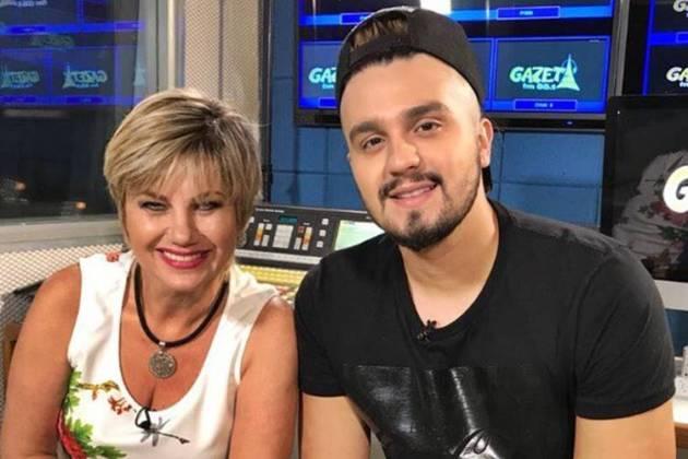 Neide Oliveira e Luan Santana/Instagram
