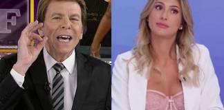 Nelson Rubens e Lívia Andrade - Reprodução: Rede TV/SBT