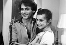 João Paulo Adour ao lado de Maitê Proença na novela 'As Três Marias', em 1980 (Reprodução/Cedoc/TV Globo)