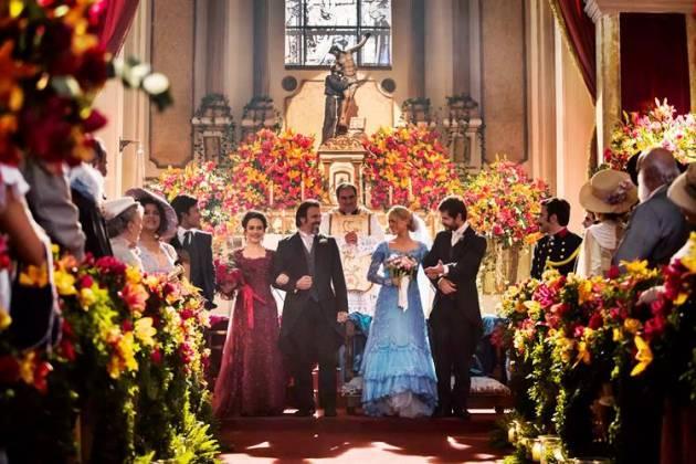 Orgulho e Paixão - Casamento (Reprodução/Fabiano Battaglin/Gshow)
