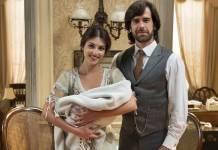 Orgulho e Paixão - Cecília e Rômulo encontram um bebê (Globo/Estevam Avellar)