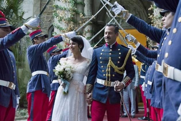 Orgulho e Paixão - Coronel Brandão e Mariana se casam (Globo/Cesar Alves)