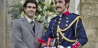 Orgulho e Paixão - Otávio e Luccino terminam juntos (Reprodução/Globo/Estevam Avellar)