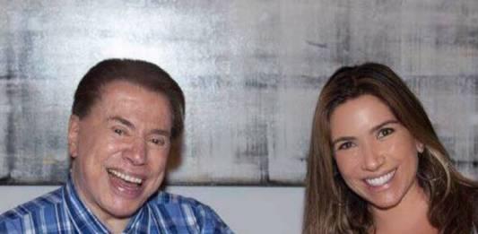 Silvio Santos e Patrícia Abravanel/Instagram