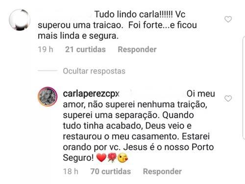 Post - Carla Perez/Instagram