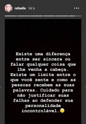 Post - Rafaella/Instagram