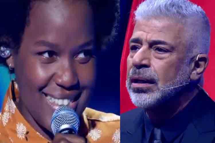 Lulu Santos se emociona com apresentação de Priscila Tossan no 'The Voice' e faz declaração