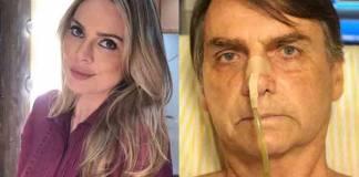 Rachel Sheherazade e Jair Bolsonaro - Reprodução/Instagram