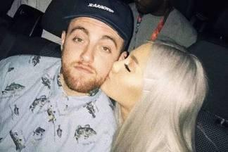 Rapper Mac Miller e Ariana Grande/Instagram