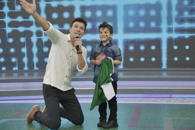 Rodrigo Faro e Gabriel (Record TV)