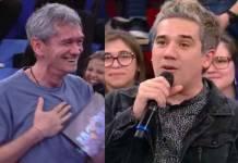 Rogério Flausino e Serginho Groisman - Reprodução/TV Globo