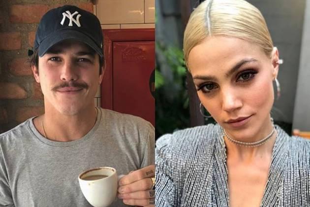 Romulo Arantes Neto e Pamela Tomé/Instagram