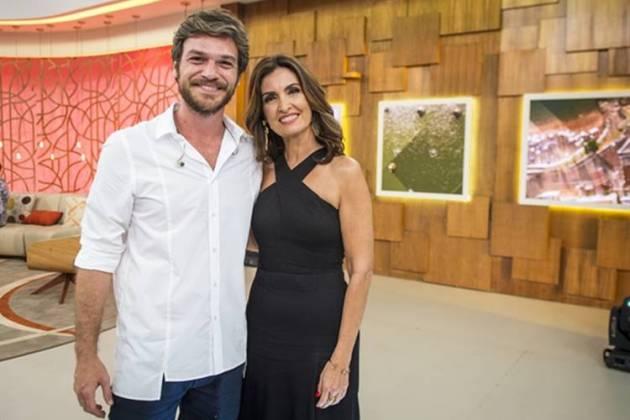 Segundo Sol - Beto Falcão e Fátima Bernardes (Globo/João Cotta)