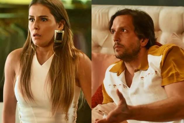 Segundo Sol -Karola e Remy são flagrados na cama(Reprodução/TV Globo)