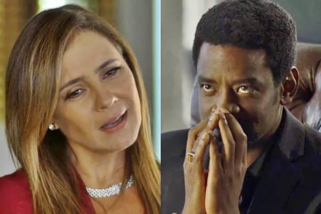 Segundo Sol - Laureta e Roberval (Reprodução/TV Globo)