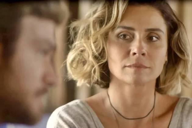 Segundo Sol - Luzia faz revelação para Beto (Reprodução/TV Globo)