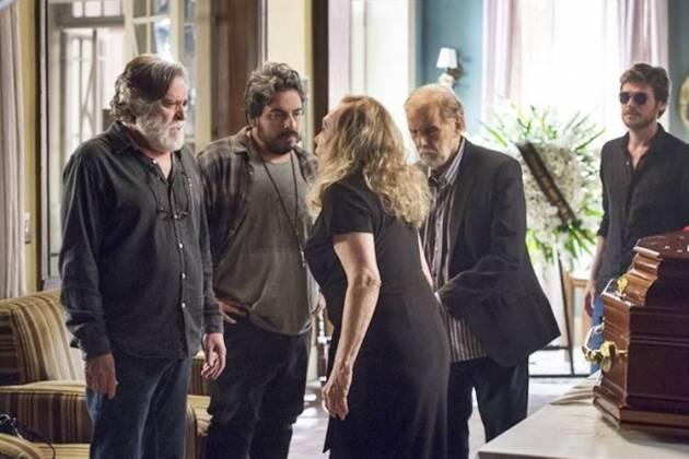 Segundo Sol - Naná revela que Nestor é o pai de Remy (Globo/Estevam Avellar)