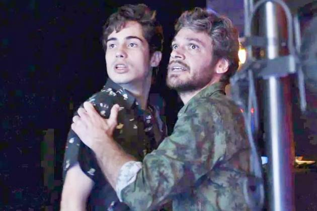 Segundo Sol - Valentim e Beto (Reprodução/TV Globo)