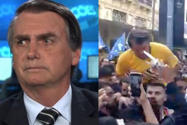 Jair Bolsonaro - Reprodução/Globo/Redes Sociais