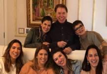 Silvio Santos e família - Reprodução/Instagram