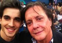 Fiuk e o pai, Fábio Jr - Reprodução/Rede Globo