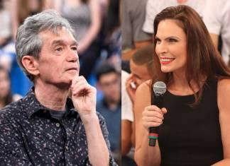Serginho Groismnan e Laura Muller - Reprodução/Rede Globo