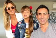 Ticiane Pinheiro e Rafinha e César Tralli/Instagram