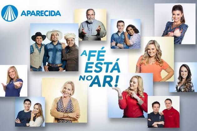 TV Aparecida - Apresentadores (Divulgação)