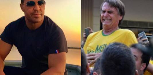 Eduardo Costa e Jair Bolsonaro/Fotomontagem: Área Vip