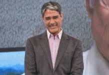 William Bonner ( Globo/Paulo Belote)