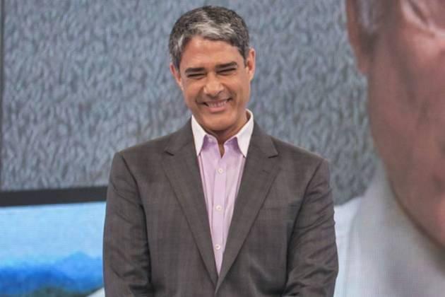 William Bonner ( Globo/Paulo Belote)