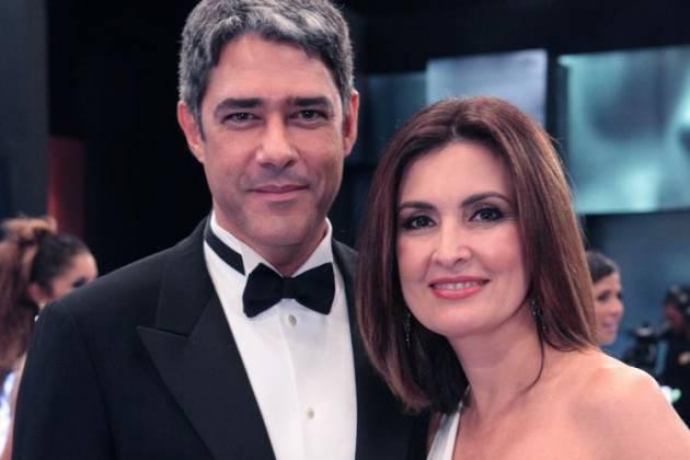 William Bonner e Fátima Bernardes - Felipe Monteiro/TV Globo