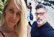 Samantha Gondin e Alexandre Frota - Montagem/Área VIP