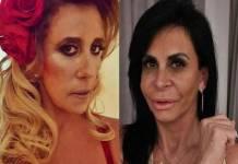 Rita Cadillac e Gretchen - Montagem/Área VIP