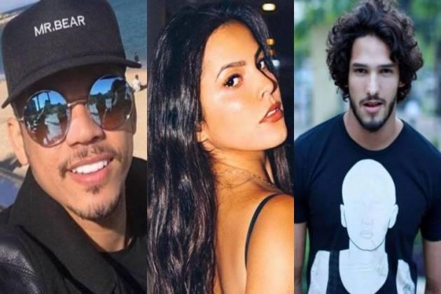 Jota Amâncio, Emilly Araújo e João Zoli - Montagem/Área VIP