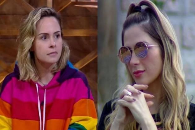 Ana Paula Renault e Nadja Pessoa - Montagem/Área VIP